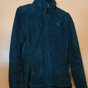 The North Face full zip thick fleece jacket